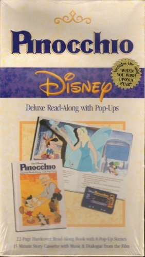 Pinocchio: Delux Read Along With Pop Ups: Walt Disney Productions