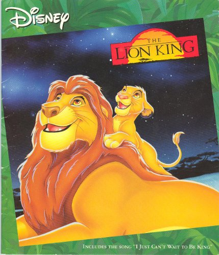 Lion King Read Along With Book: Walt Disney