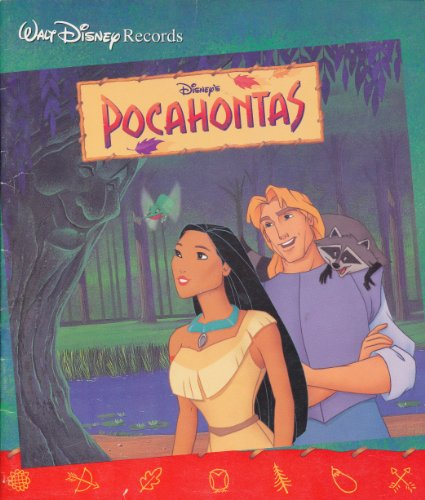 9781557237392: Disney's Pocahontas (Read-Along) (Book and Cassette)