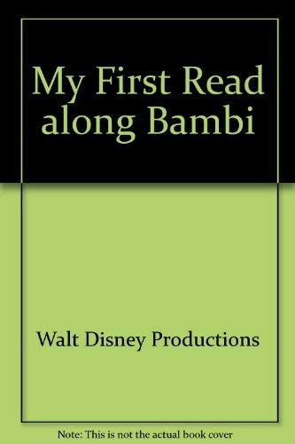 9781557237491: My First Read along Bambi