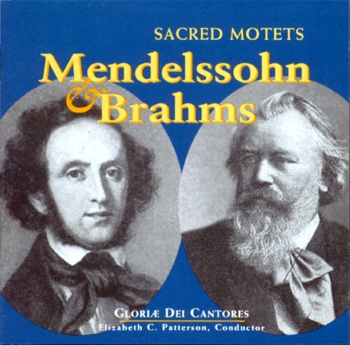 9781557252432: Mendelssohn and Brahms: Sacred Motets