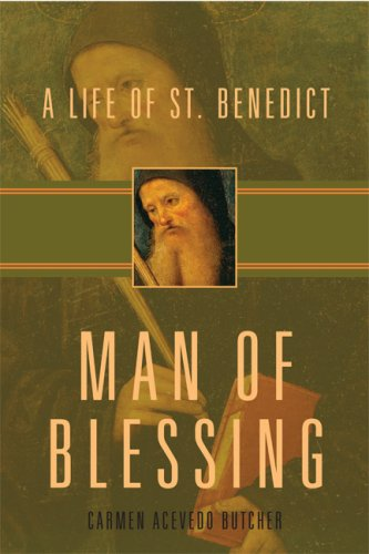 9781557254856: Man of Blessing: A Life of St. Benedict