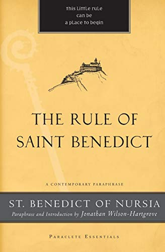 9781557259738: The Rule of Saint Benedict: A Contemporary Paraphrase (Paraclete Essentials)