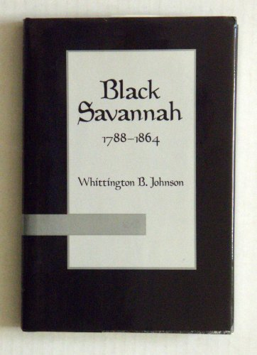 Black Savannah 1788-1864