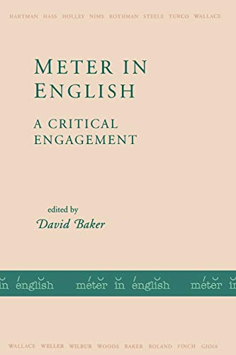 9781557284440: Meter in English: A Critical Engagement