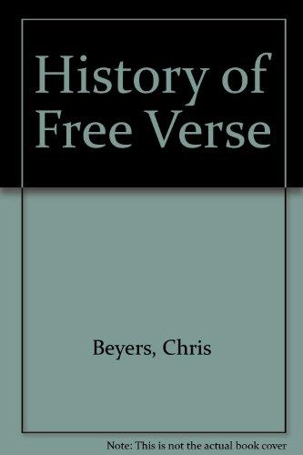 9781557287014: History Of Free Verse