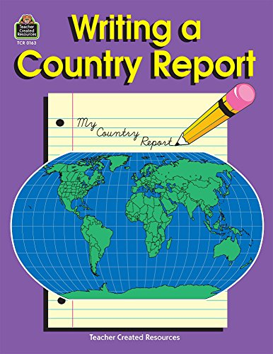 9781557341631: Writing a Country Report
