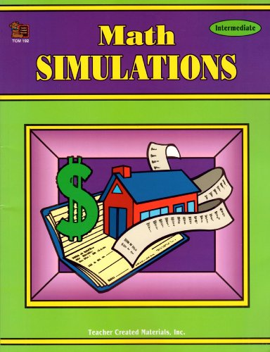 9781557341921: Math Simulations: Intermediate