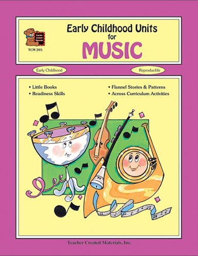 Early Childhood Units for Music: Ruth Bergad