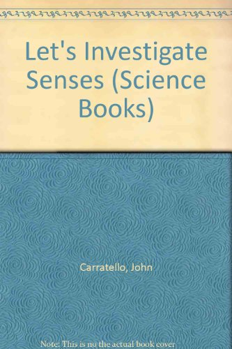 9781557342133: Let's Investigate Senses (Science Books)