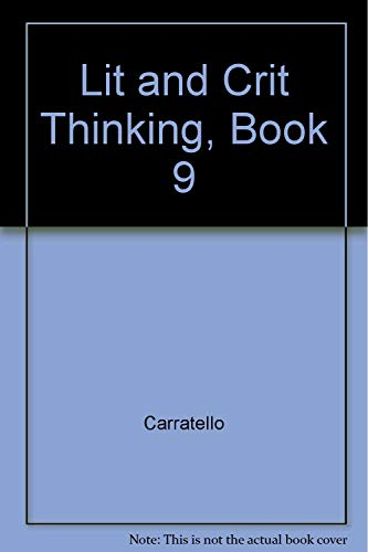 9781557343635: Lit And Crit Thinking, Book 9