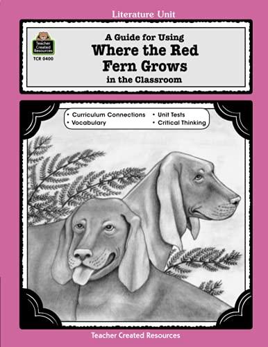 Literature Unit: A Guide for Where the: Patty Carratello, John