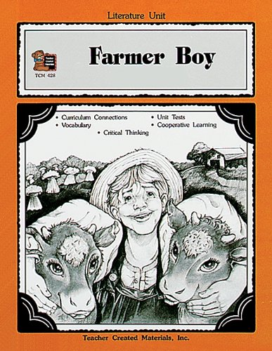 9781557344281: A Guide for Using Farmer Boy in the Classroom (Literature Units)