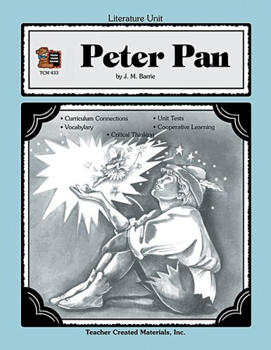 9781557344335: A Guide for Using Peter Pan in the Classroom TCM 433