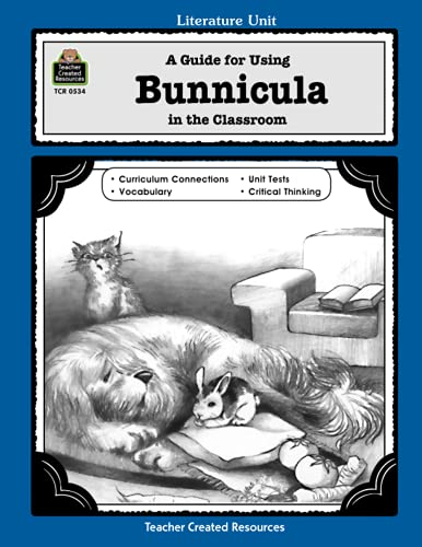 9781557345349: A Guide for Using Bunnicula in the Classroom (Literature Units)