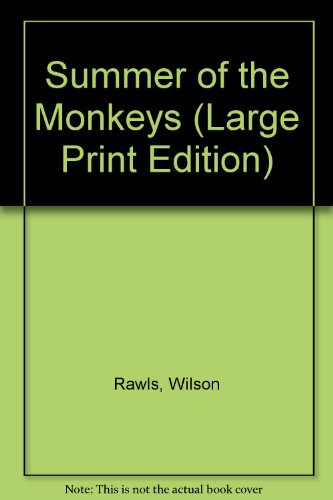 9781557361448: Summer of the Monkeys (Large Print Edition)