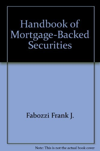 9781557382573: Handbook of Mortgage-Backed Securities