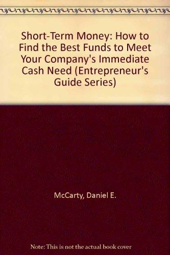 Short-Term Money: McCarty, Daniel E.