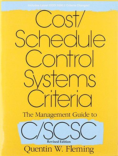 Cost Schedule Control