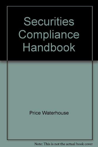 9781557383945: Securities Compliance Handbook