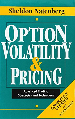 9781557384867: Option Volatility & Pricing: Advanced Trading Strategies and Techniques