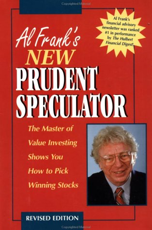 9781557388735 Al Franks New Prudent Speculator The Master Of
