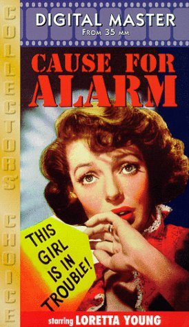 Cause for Alarm [VHS]