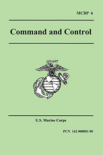 9781557423078: Command and Control (Marine Corps Doctrinal Publication 6)