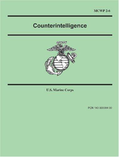 9781557423085: Counterintelligence (Marine Corps Warfighting Publication 2-6)