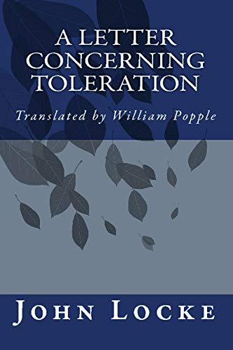 9781557427274: A Letter Concerning Toleration