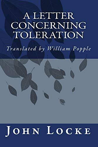 9781557427274: A Letter Concerning Toleration