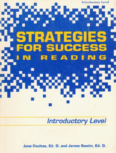 Strategies for Success in Reading: Level E: Berrent Pubns