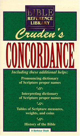 9781557480156: Bible Reference Library: Cruden's Concordance