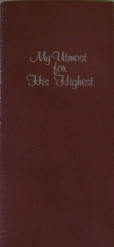My Utmost for His Highest: Vest Pocket Edition: Chambers, Oswald