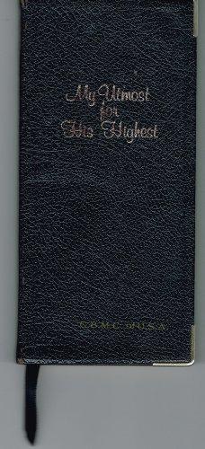 9781557482211: My Utmost for His Highest: Vest Pocket Ed.