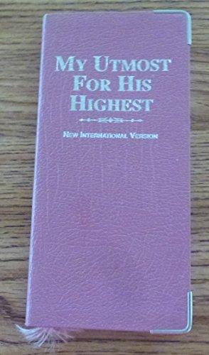 9781557483218: My Utmost for His Highest: Vest Pocket Ed.