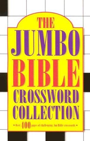 9781557488329: Jumbo Bible Crossword Collection #1
