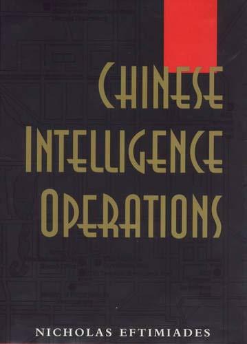 9781557502148: Chinese Intelligence Operations