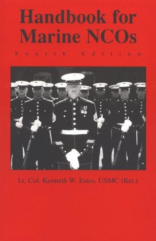 9781557502384: Handbook for Marine NCOs