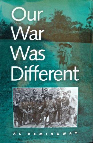 Our War Was Different: Marine Combined Action Platoons in Vietnam: Hemingway, Al