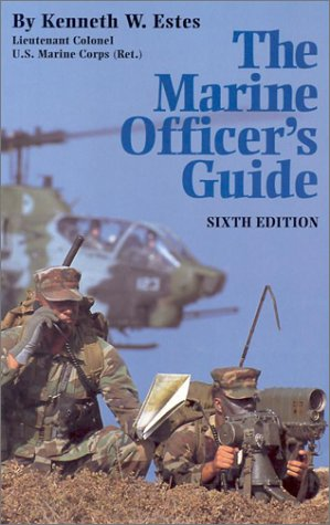 9781557505675: Marine Officer's Guide