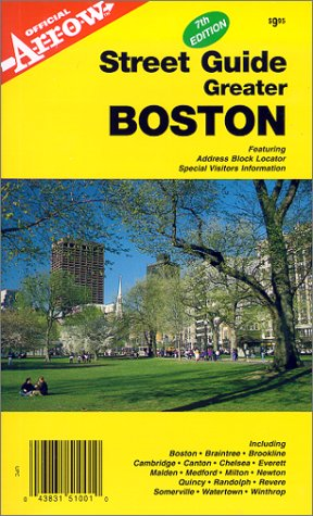Greater Boston Street Guide (1557510016) by Inc. Arrow Map