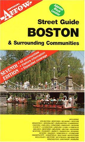 9781557510037: Boston & Surrounding Communities Street Guide