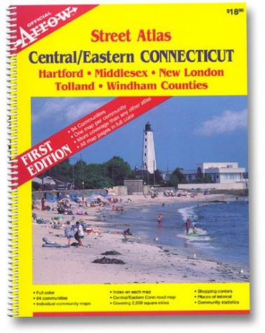9781557510389: Connecticut (Central/Eastern) Atlas