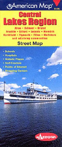 Lakes Region NH $4.95: Incorporation, American Map
