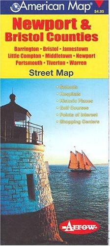 Newport & Bristol Counties Ri Map (9781557511652) by Inc. Arrow Map