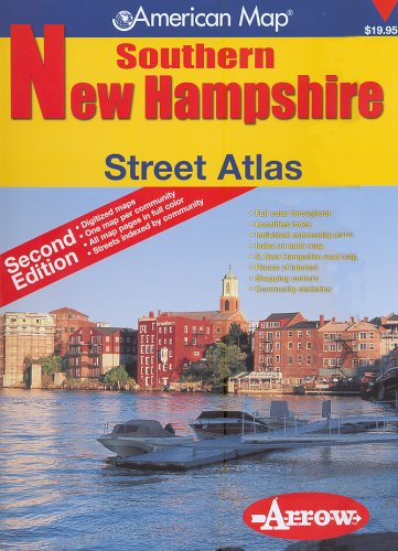 9781557513069: American Map Southern New Hampshire: Street Atlas