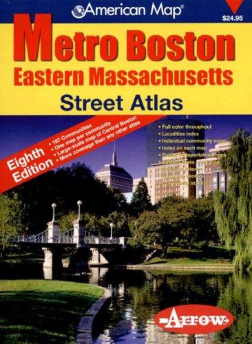 9781557513182: Metro Boston Eastern Massachusetts (Metro Boston Eastern Massachusetts Street Atlas)