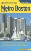 Metro Boston Massachusetts Pocket Atlas: American Map Corp