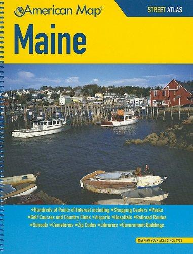 9781557513434: Maine Street Atlas